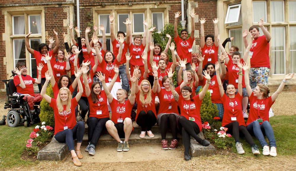 Teilnehmer beim ersten Campaign Bootcamp in Großbritannien 2013