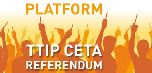 Kampagne TTIP CETA Referendum Niederlande
