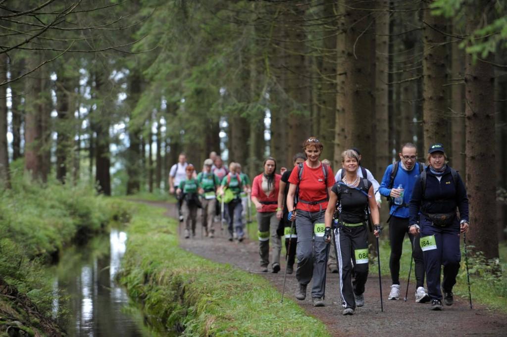 Oxfam Trailwalker: Wandern für einen Guten Zweck (Foto: Oxfam Deutschland)