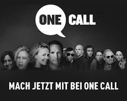ONE Call: Lass Promis bei Deinen Freunden anrufen