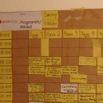 Der Studenplan für die Socialcamper am Samstag (Foto: Helpedia)