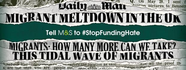 Stop funding hate_Kampagne des Jahres 2017, Bild: https://stopfundinghate.org.uk