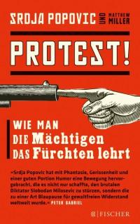 Buchcover Srdja Popvic: Protest